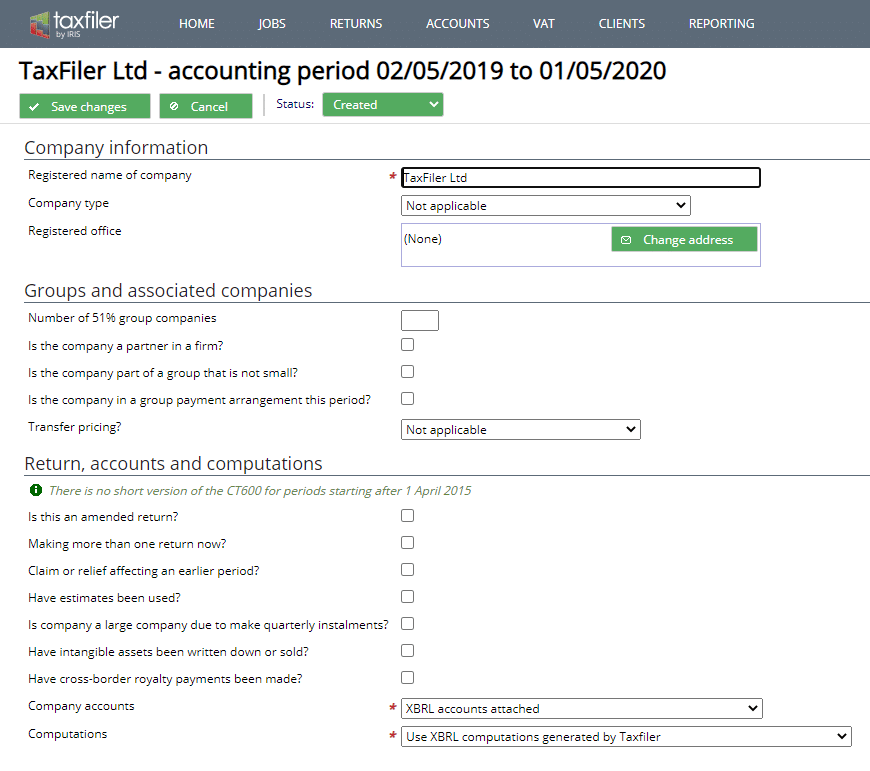tax returns - Taxfiler Software