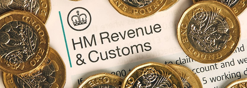 Corporation Tax Blog - Pound Coins and HMRC Documents