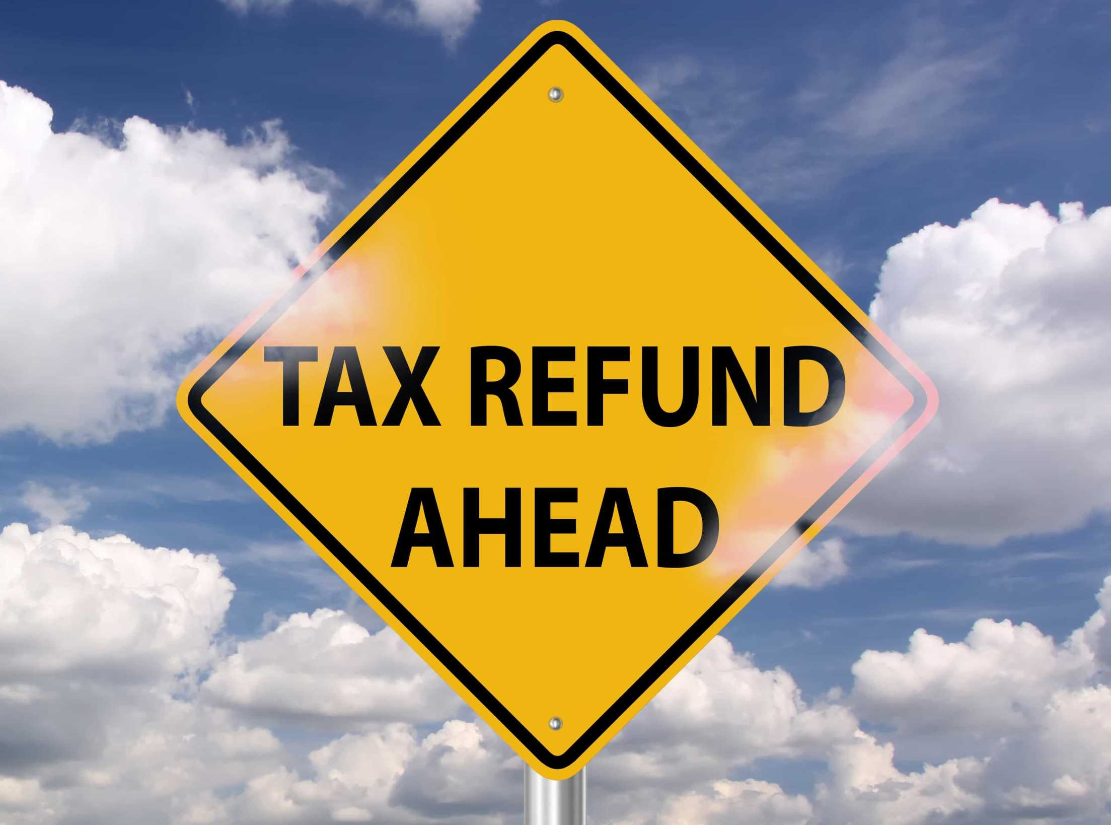 tax refund ahead sign   How to claim tax back - Taxfiler